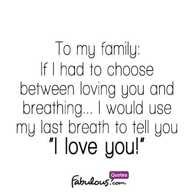 i love you family quotes