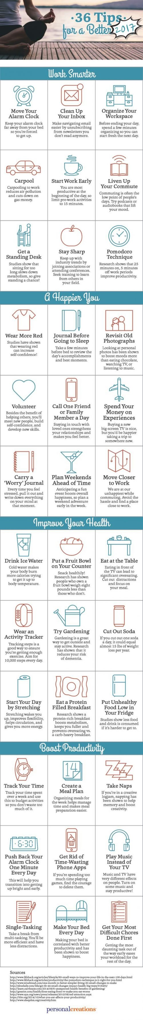 Tips for a better new year