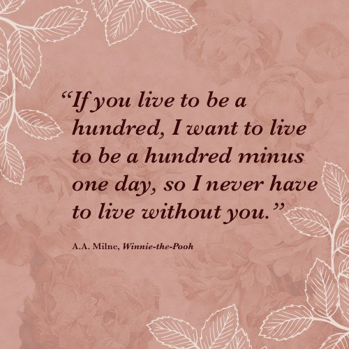 Winnie the Pooh quote without you