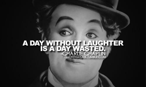 A day without a laughter